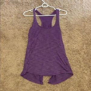 Lululemon split back tank